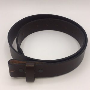 Other - Genuine brown leather belt Made in USA
